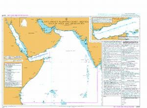 Carte marine Admiralty Maritime Security Chart