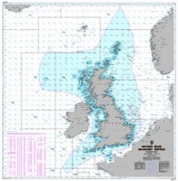 Carte marine Admiralty Fisheries Chart