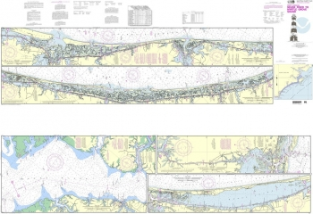 NOAA - 11541PF - Intracoastal Waterway - Neuse River to Myrtle Grove Sound