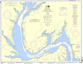 NOAA - 12288 - Potomac River - Lower Cedar Point to Mattawoman Creek