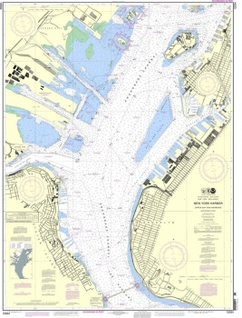 NOAA - 12334 - New York Harbor - Upper Bay and Narrows - Anchorage Chart