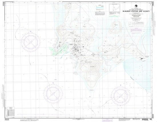 NGA - 29323 - McMurdo Station & Vicinity (Ross Island-Hut Point Peninsula)