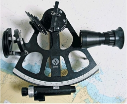 Sextant Freiberger Drum avec miroir d'horizon traditionnel