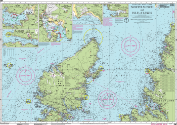 Carte marine Imray - C67 - North Minch and Isle of Lewis