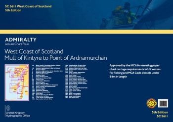 Admiralty - Sc5611 - West Scotland /Mull of Kintyre to Point of Ardnamurchan - British Admiralty