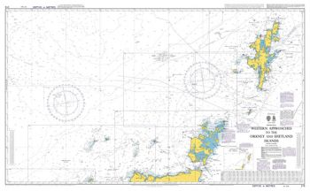 Admiralty - 219 - Western Approaches to the Orkney and Shetland Islands