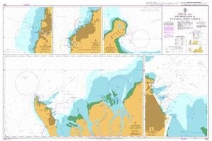 Admiralty - 1322 - Ports and Anchorages in Central West Africa