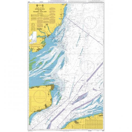 Admiralty - 1610 - Approaches to the Thames Estuary