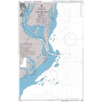 Admiralty - 2804 - Winyah Bay and Georgetown Harbor with Approaches