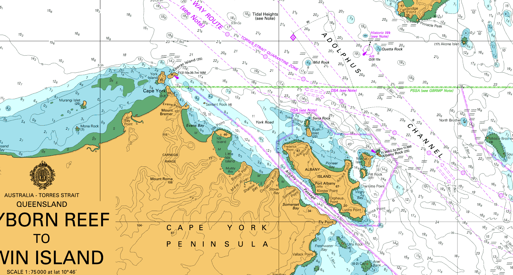 Carte Australian Hydrographic Office